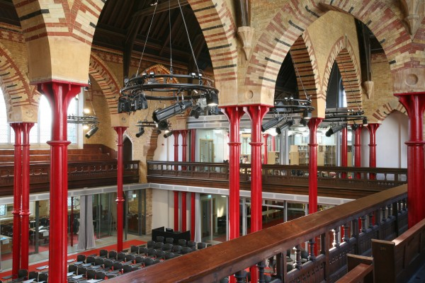 Refurbishment and restoration of a listed church to create a theological education centre.