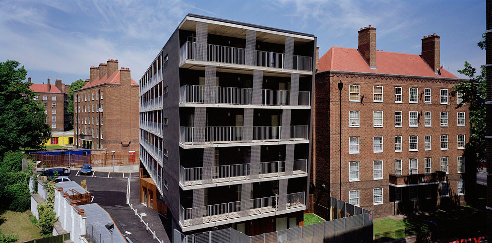 30 units of shared ownership accommodation for the Peabody Trust on the Pembury Estate
