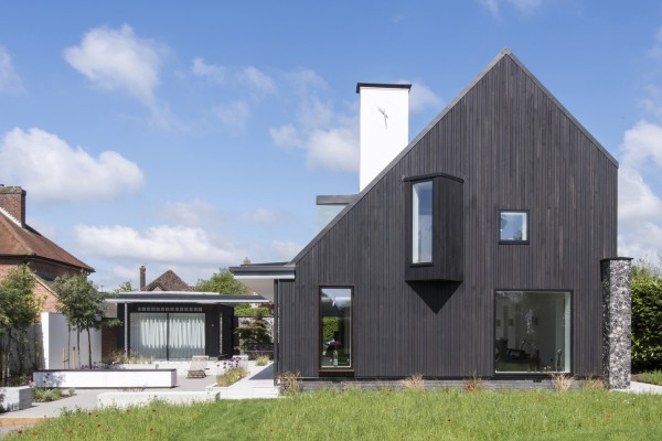 A carbon neutral, energy efficient home in Old Amersham.
