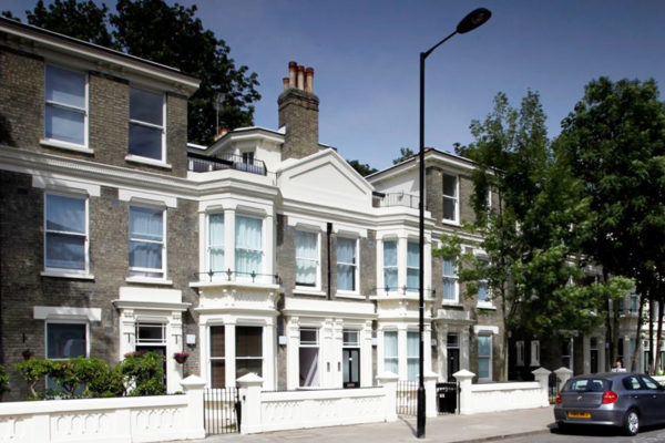 Refurbishment of this 140 year old, Grade II listed building comprising the first purpose-built maisonettes in London. Involving the conservation and modernisation of the flats.