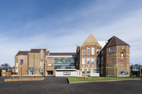 The refurbishment and extension of a primary school following a devastating fire.